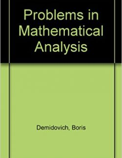 Problems in Mathematical Analysis - B. P. Demidovich - 2nd Edition 31