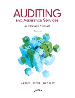 Auditing and Assurance Services – Alvin A. Arens, Randal J. Elder, Mark S. Beasley – 14th Edition