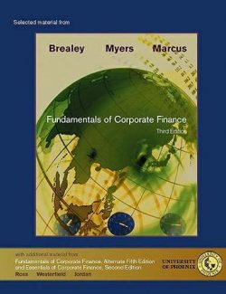 Fundamentals of Corporate Finance – Richard A. Brealey, Stewart C. Myers – 3rd Edition