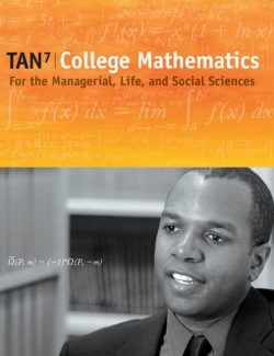 College Mathematics for the Managerial, Life, and Social Sciences - Soo T. Tan - 7th Edition 28
