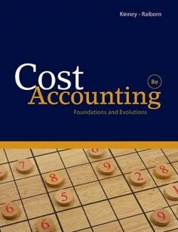 Cost Accounting - Cecily A. Raiborn, Michael R. Kinney - 8th Edition 21
