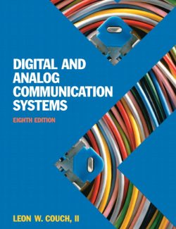 Digital and Analog Communication Systems – León W. Couch – 8th Edition
