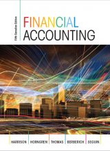 Financial Accounting - Walter T. Harrinson, Charles T. Horngren, C. William Thomas, Greg Berberich, Catherine Seguin - 5th Edition 73