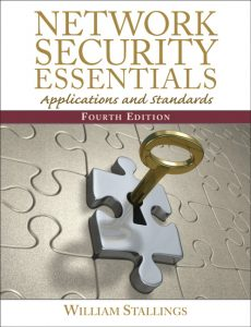 Network Security Essentials – William Stallings – 4th Edition