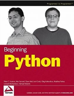 Beginning Python - Peter C. Norton - 1st Edition 26