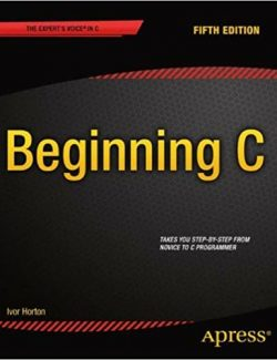Beginning C From Novice to Professional - Ivor Horton - 5th Edition 20