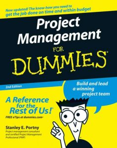 Project Management for Dummies – Stanley E. Portny – 2nd Edition