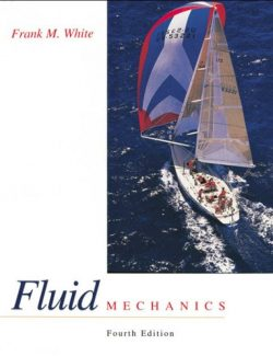Fluid Mechanics – Frank White – 4th Edition