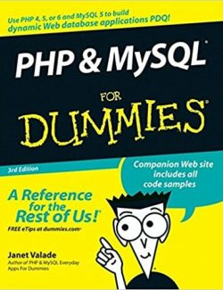 PHP & MySQL For Dummies - Janet Valade - 3rd Edition 27