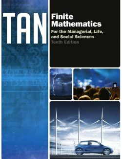 Finite Mathematics for the Managerial, Life, and Social Sciences - Soo T. Tan - 10th Edition 25