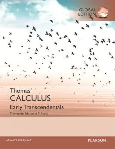 Thomas´ Calculus Early Transcendentals – George B. Thomas – 13th Edition