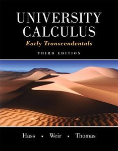 University Calculus: Early Transcendentals – George B. Thomas – 3rd Edition