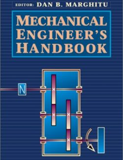 Mechanical Engineer's Handbook - J. David Irwin, Dan B. Marghitu - 1st Edition 20