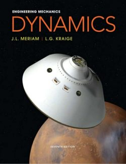Meriam Engineering Mechanics: Dynamics - J. L. Meriam, L. G. Kraige - 7th Edition 20