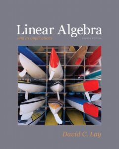 Linear Algebra and Its Applications – David C. Lay – 4th Edition