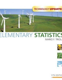 Elementary Statistics Technology Update - Mario F. Triola - 11th Edition 20
