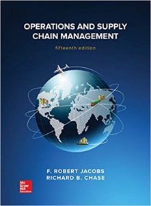 Operations & Supply Management – F. Robert Jacobs, Richard Chase – 12th Edition