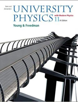 University Physics Vol.1 – Sears, Zemansky's – 11th Edition