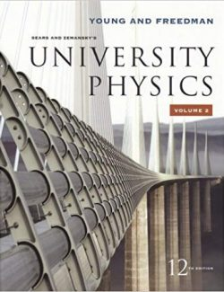University Physics with Modern Physics – Sears, Zemansky's – 12th Edition – Vol.2