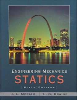 Engineering Mechanics: Statics – Russell C. Hibbeler – 6th Edition