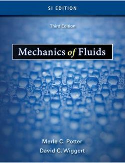Fluid Mechanics – Merle Potter, David Wiggert – 3rd Edition