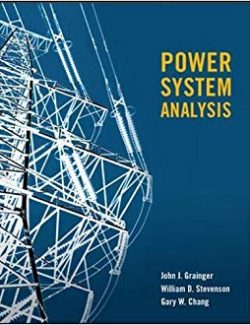 Power Systems Analysis - John Joseph Grainger, William D. Stevenson - 1st Edition 24