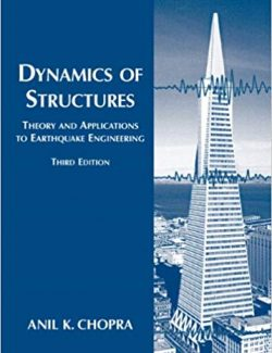Dynamics of Structures – Anil K. Chopra – 3rd Edition