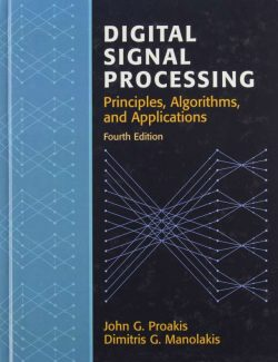 Digital Signal Processing- John G. Proakis – 4th Edition