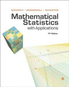 Mathematical Statistics with Applications – Dennis Wackerly – 7th Edition