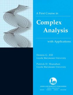 A First Course in Complex Analysis with Applications – Dennis G. Zill – 1st Edition