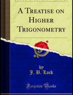 A Treatise On Higher Trigonometry - J. B. Lock (1884) - 1st Edition 26