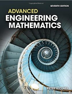 Advanced Engineering Mathematics – Peter O'Neil – 7th Edition