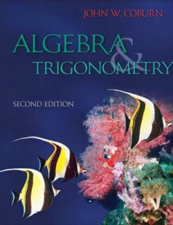 Algebra and Trigonometry - John Coburn - 2nd Edition 23