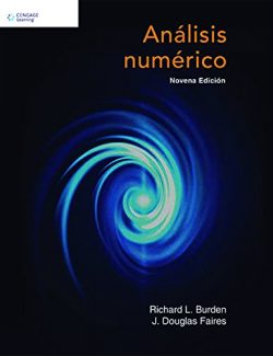 Numerical Analysis – Richard L. Burden, J. Douglas Faires – 9th Edition