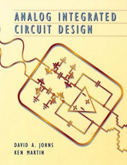 Analog Integrated Circuit Design - D. Johns, K. Martin - 2nd Edition 29