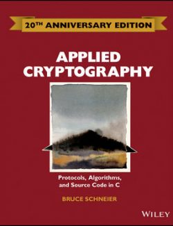 Applied Cryptography – Bruce Schneier – 2nd Edition