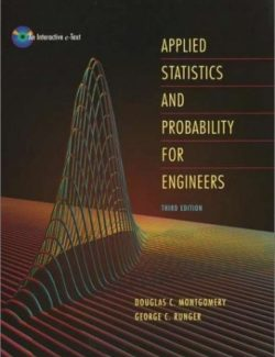 Applied Statistics and Probability for Engineers – Douglas C. Montgomery – 3rd Edition