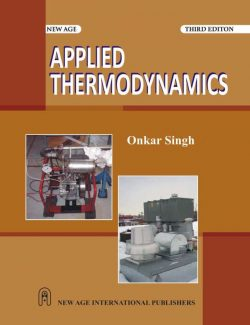 Applied Thermodynamics – Onkar Singh – 3rd Edition