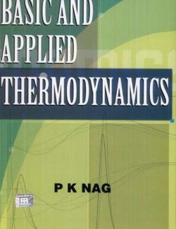 Basic and Applied Thermodynamics – P. K. Nag – 8th Edition