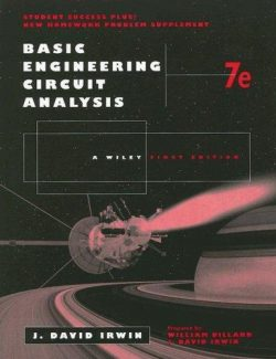Basic Engineering Circuit Analysis – J. David Irwin – 7th Edition