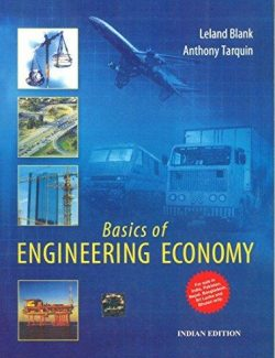 Basics of Engineering Economy – L. Blank, A. Tarquin – 1st Edition