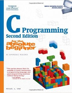 C Programming for the Absolute Beginner - Michael Vine - 2nd Edition 25