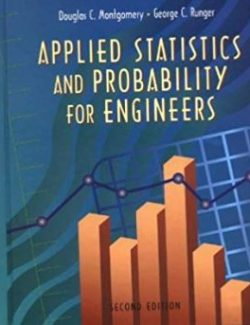 Applied Statistics and Probability for Engineers – Douglas C. Montgomery – 2nd Edition