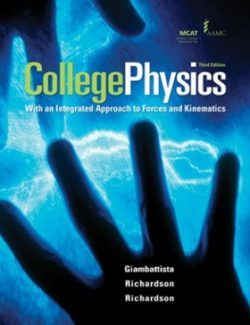 College Physics – Alan Giambattista – 3rd Edition