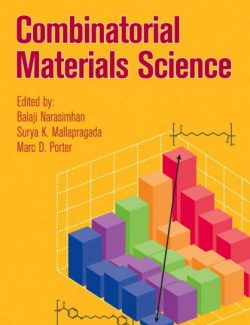 Combinatorial Materials Science - Narasimhan, Mallapragada, Porter - 1st Edition 24