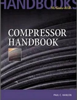 Compressor Handbook – Paul Hanlon – 1st Edition