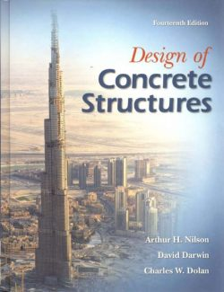 Design of Concrete Structures – Arthur H. Nilson – 14th Edition