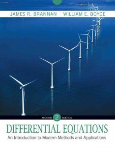 Differential Equations: An Introduction to Modern Methods and Applications – William E. Boyce – 2nd Edition