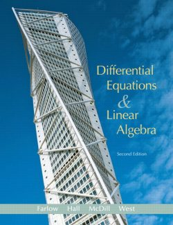 Differential Equations & Linear Algebra – Jerry Farlow – 2nd Edition