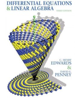Differential Equations and Linear Algebra - Edwards & Penney - 3rd Edition 24